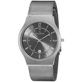 Skagen Men's 233XLTTM Stainless Steel Watch