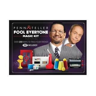 Penn & Teller Fool Everyone Magic Kit|https://ak1.ostkcdn.com/images/products/11903340/P18796734.jpg?impolicy=medium