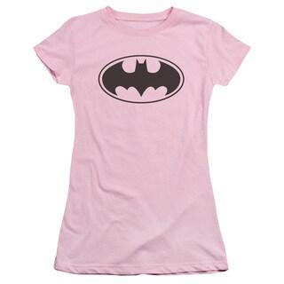 Batman/Black Bat Junior Sheer in Pink