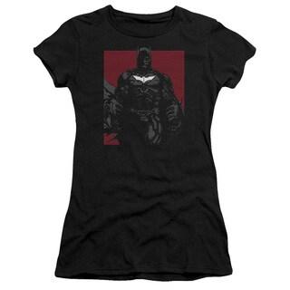 Dark Knight Rises/Bat Lines Junior Sheer in Black