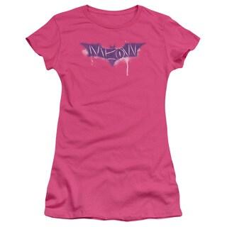 Dark Knight Rises/Spray Meow Junior Sheer in Hot Pink