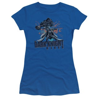 Dark Knight Rises/Batwing Junior Sheer in Royal