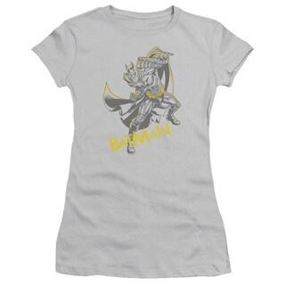 Dark Knight Rises/Left Hook Junior Sheer in Silver