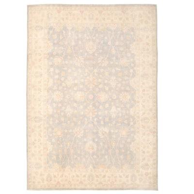 Handmade One-of-a-Kind Oushak Wool Rug (Afghanistan) - 9'11 x 13'11