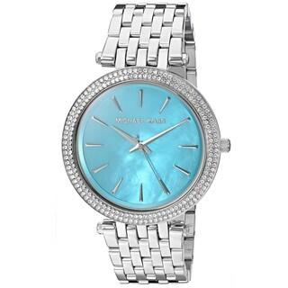 Michael Kors Women's MK3515 'Darci' Crystal Stainless Steel Watch