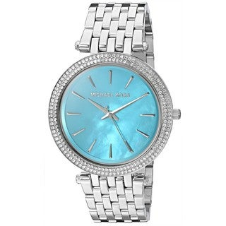 Michael Kors Women's MK3515 'Darci' Crystal Stainless Steel Watch