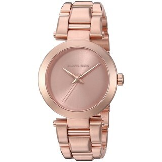 Michael Kors Women's MK3518 'Delray' Rose-Tone Stainless Steel Watch