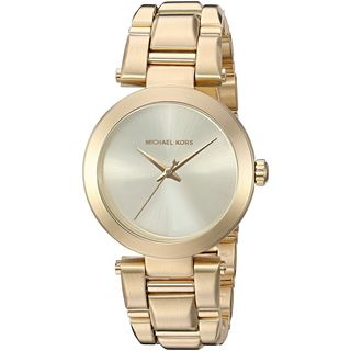 Michael Kors Women's MK3517 'Delray' Gold-Tone Stainless Steel Watch
