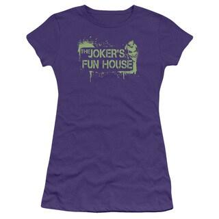 Arkham City/Joker's Fun House Junior Sheer in Purple