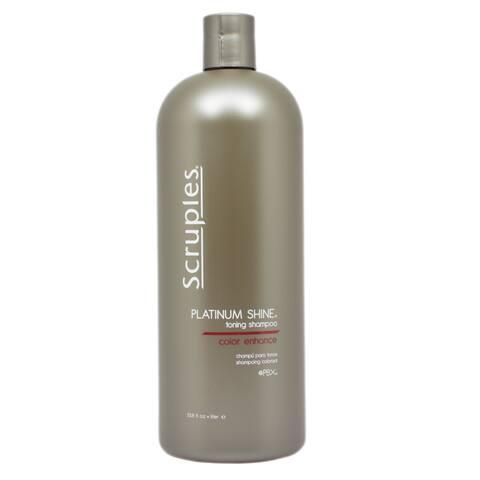 Scruples Platinum Shine 33.8-ounce Toning Shampoo