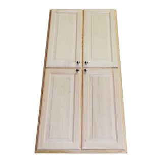 WG Wood Products Barcelona 54-inch Recessed Pantry Storage Cabinet