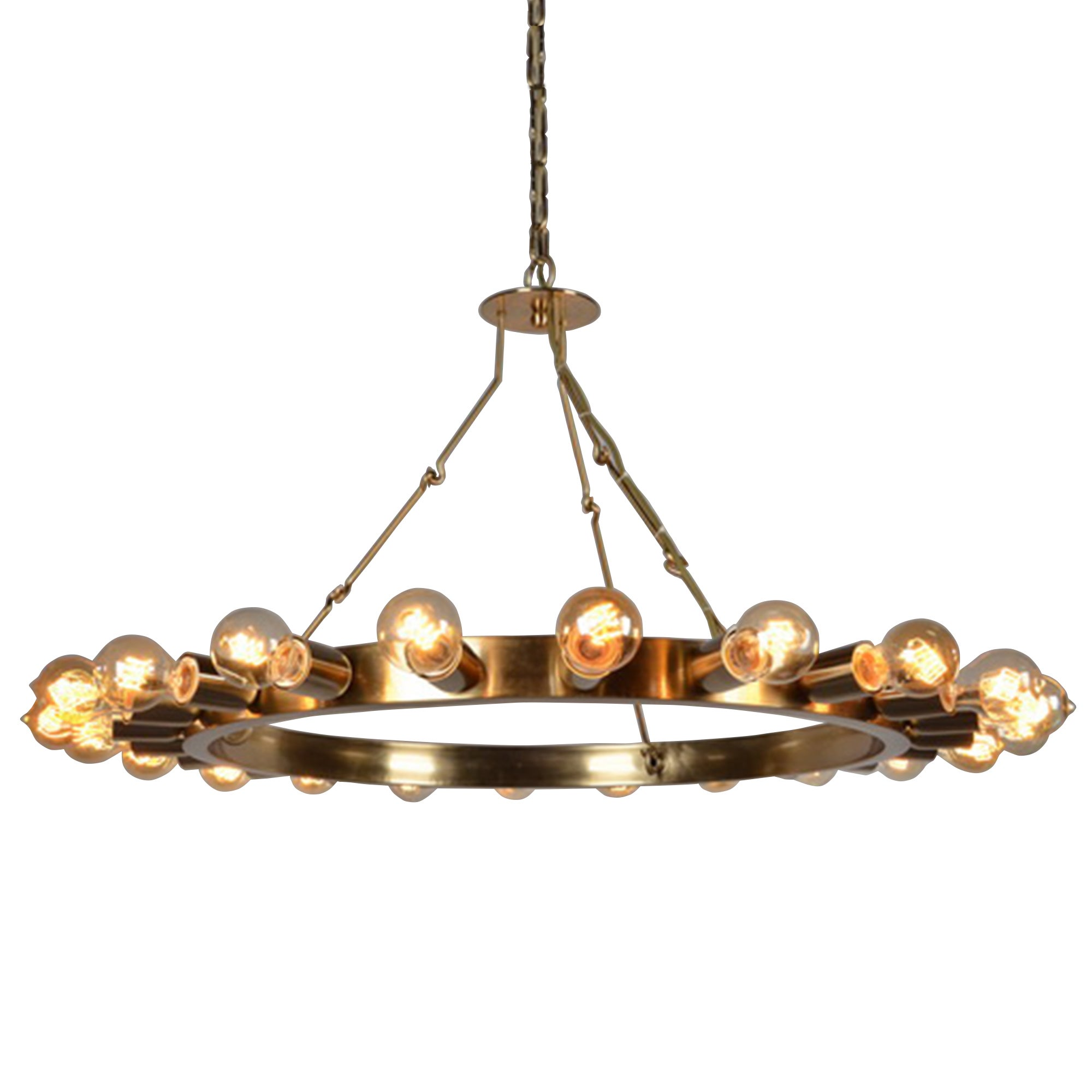 Y-Decor 'Raykovich' Iron Wagon Wheel Inspired 22-light Ch...