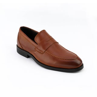 Xray Men's Garnet Faux Leather Penny Loafer