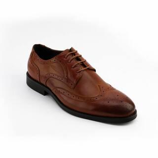 Xray Men's Tayler Derby Black/Brown Polyurethane Oxford Shoes https://ak1.ostkcdn.com/images/products/11903867/P18797158.jpg?impolicy=medium