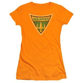 Batman Bb/Aquaman Shield Junior Sheer in Orange