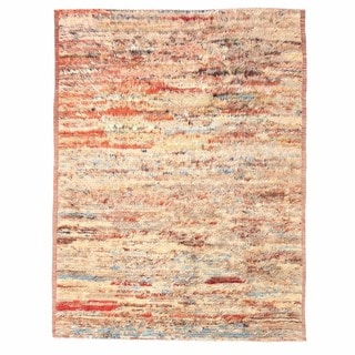 Herat Oriental Afghan Hand-knotted Gabbeh Wool Rug (10'5 x 13'9)