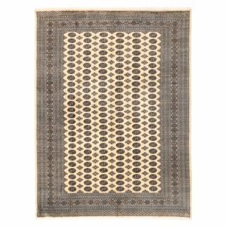 Herat Oriental Pakistani Hand-knotted Bokhara Wool Rug (9'1 x 12'3)