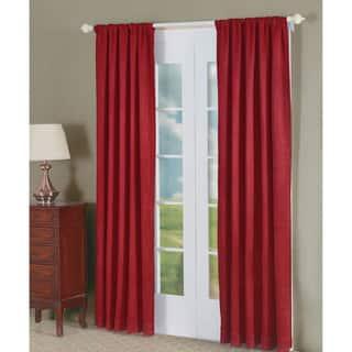Laurel Creek Alice Red Crush 2 Piece Curtain Panel
