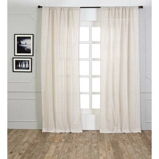Iker Cotton Seersucker Curtain Panel