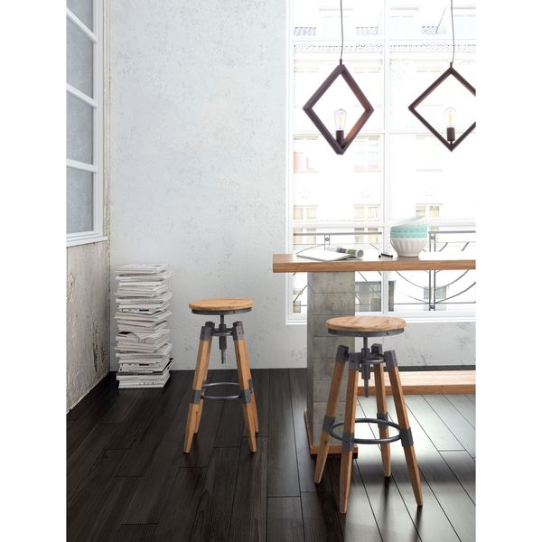 Curry Wooden Barstool in Natural Pine and Industrial Grey  : Curry Barstool Natural Pine Industrial Gray f919cc5c fe4c 4bef bc0c 0ca7d713ac7f600 from www.overstock.com size 600 x 600 jpeg 34kB