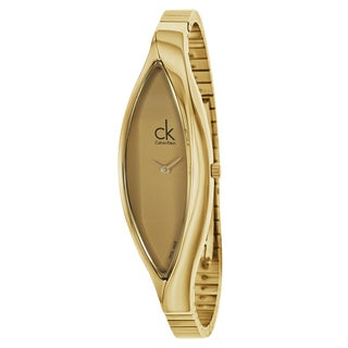 Calvin Klein Men's Goldtone Gold Watch