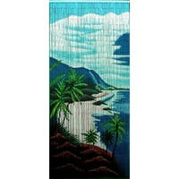 Handmade Tropical Clifts Curtain (Vietnam)