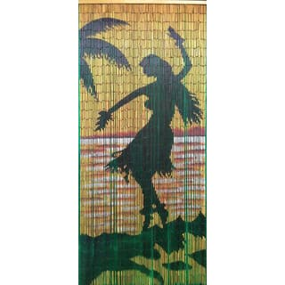 Handmade Hula Girl Silohuette Curtain (Vietnam)|https://ak1.ostkcdn.com/images/products/11904061/P18797276.jpg?impolicy=medium