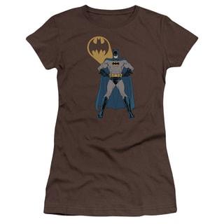Batman/Arms Akimbo Bats Junior Sheer in Coffee