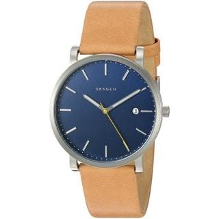 Skagen Men's SKW6279 'Hagen' Brown Leather Watch