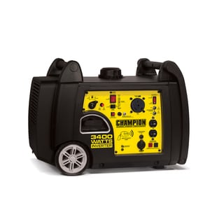 Champion Power Equipment 3,400-watt Gasoline-powered Remote-start Portable Inverter and Generator With Parallel Capability