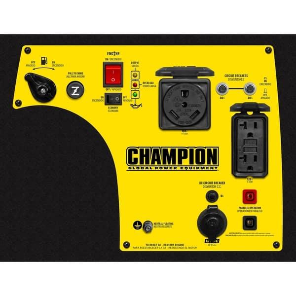 Shop Champion 3400-Watt RV Ready Portable Inverter Generator