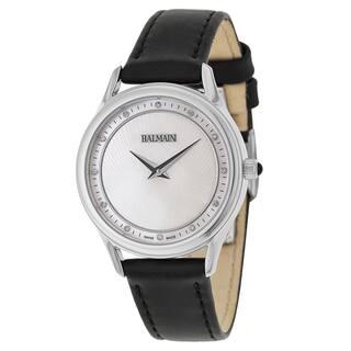 Balmain Men's Black Leather Watch|https://ak1.ostkcdn.com/images/products/11904138/P18797387.jpg?impolicy=medium