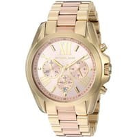 Michael Kors Women's MK6359 'Bradshaw' Chronograph Two-Tone Stainless Steel Watch