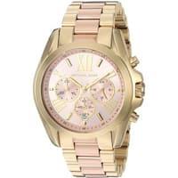 5e7bdfa73ab5 Michael Kors Women s MK6359  Bradshaw  Chronograph Two-Tone Stainless Steel  Watch
