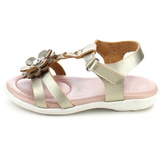 Beston Girl's Faux Leather Flat Sandals