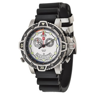 Swiss Military Men's Black Watch