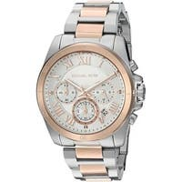 cca40bcc25d2 Michael Kors Women s MK6368  Brecken  Chronograph Two-Tone Stainless Steel  Watch