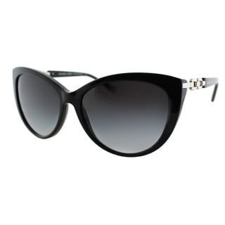 Michael Kors Women's Gstaad MK 2009 300511 Black Plastic Cat Eye Sunglasses