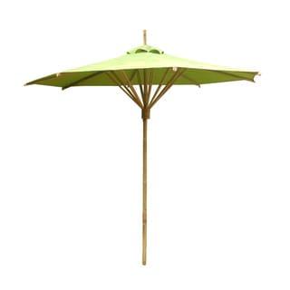 Zew Bamboo Hand Crafted Outdoor Umbrella