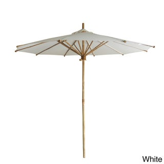 Zew Bamboo Hand-crafted Outdoor Umbrella