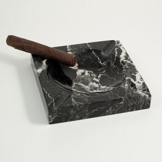 Black Marble Cigar Ashtray