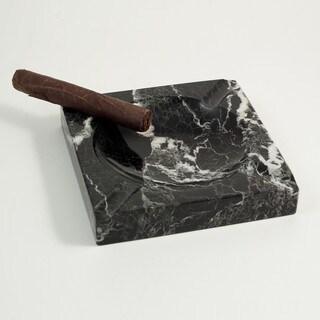 Black Marble Cigar Ashtray