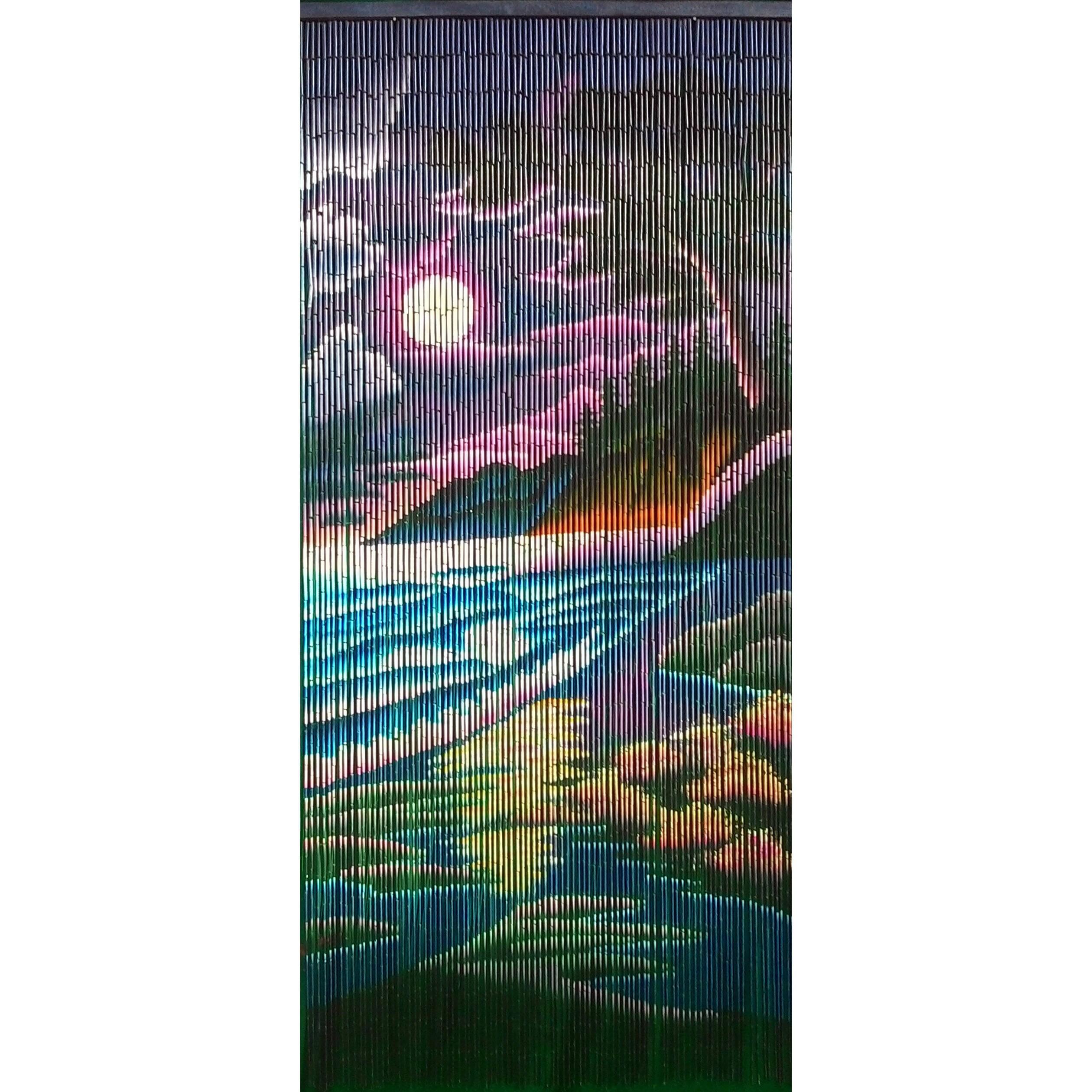 Bamboo 54 Moonite Beach Curtain (Vietnam) (Moonite Beach)...