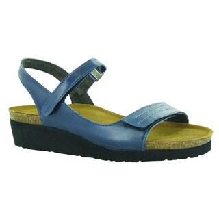 Naot Footwear Women's Madison Blue EVA/Leather/Suede Comfort Adjustable Sandal