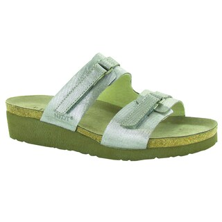 Naot Carly Women's Suede Wedge Slide Sandals