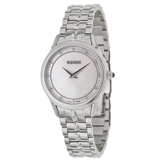 Balmain Men's Silvertone Stainless Steel Swiss Quartz Watch