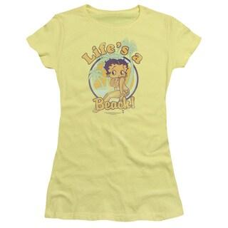 Boop/Life's A Beach Junior Sheer in Banana