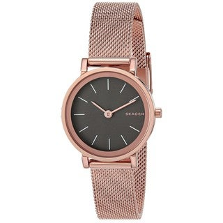 Skagen Women's SKW2470 'Hald' Rose-Tone Stainless Steel Watch