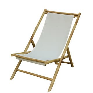 Zew Hand Crafted Foldable Bamboo Sling Patio Chair|https://ak1.ostkcdn.com/images/products/11905077/P18798233.jpg?impolicy=medium