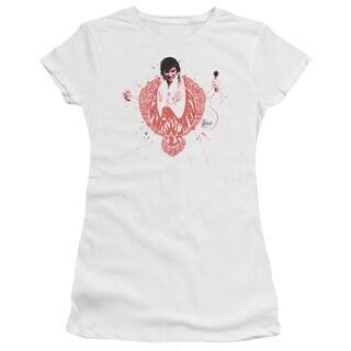 Elvis/Red Pheonix Junior Sheer in White